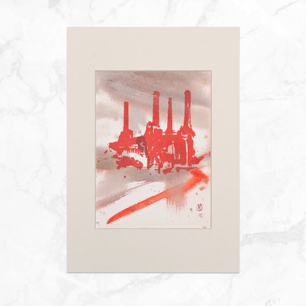 Alessandro Busci - Power Station Rosso